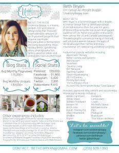 Beth Bryan Blog Media Kit 2016