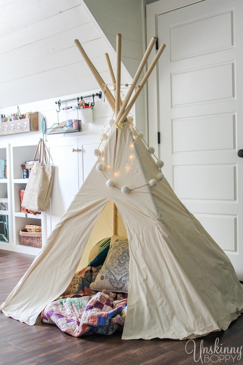 Amazing Attic Playroom - Office-13