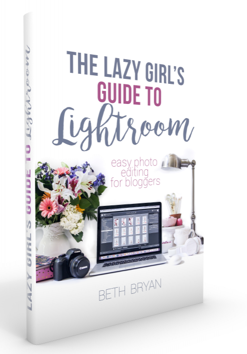 Lazy Girl's Guide to LIghtroom book cover